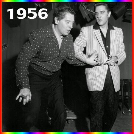 Elvis et Milton Berle