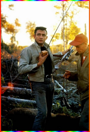 Johnny Cash en mode chasseur